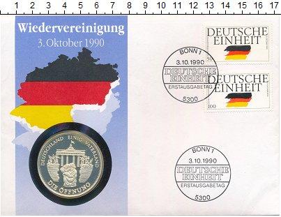 Изображение Подарочные монеты Германия Медаль 1990 Серебро Proof `Памятная медаль ``О
