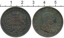 Изображение Монеты Великобритания Эссекуибо и Демерара 1/2 стивера 1813 Медь VF