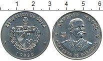Монета Куба 1 песо Медно-никель 1977 UNC фото