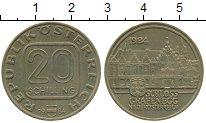 Монета Австрия 20 шиллингов Латунь 1984 XF