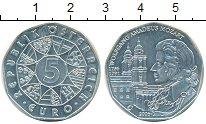 Монета Австрия 5 евро Серебро 2006 UNC фото