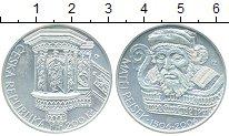 Монета Чехия 200 крон Серебро 2006 UNC фото