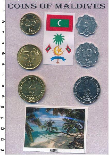 Изображение Подарочные монеты Мальдивы Набор монет 0  UNC Набор из 6 монет от