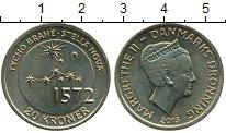 Монета Дания 20 крон Латунь 2013 UNC- фото