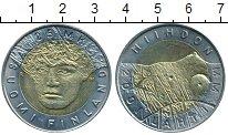 Монета Финляндия 25 марок Биметалл 2001 UNC- фото