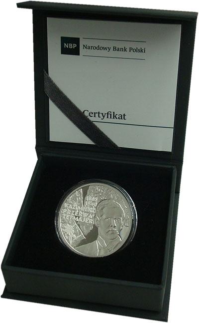 Изображение Подарочные монеты Польша 10 злотых 2015 Серебро Proof Казимеж Пшерва-Тетма