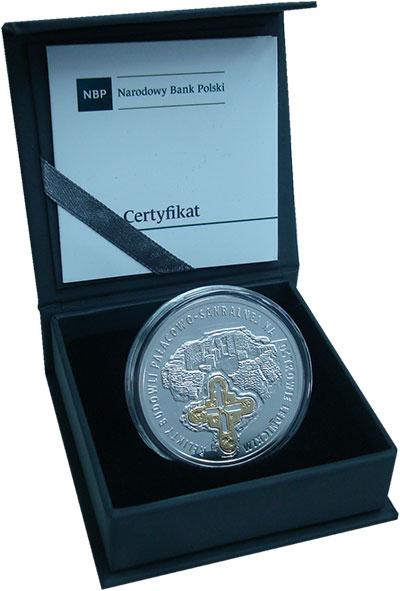 Изображение Подарочные монеты Польша 20 злотых 2015 Серебро Proof Реликвии дворцово-ре