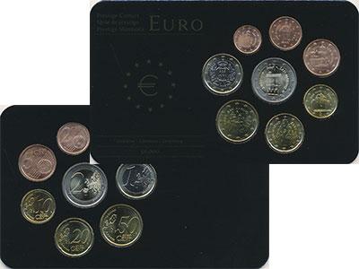 Изображение Подарочные монеты Сан-Марино Сан-Марино 2006-2011 0  UNC В наборе 8 монет ном