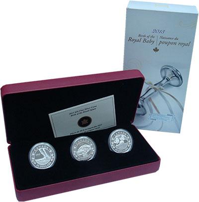 Изображение Подарочные монеты Канада 20 долларов 2013 Серебро Proof `Подарочный набор мо