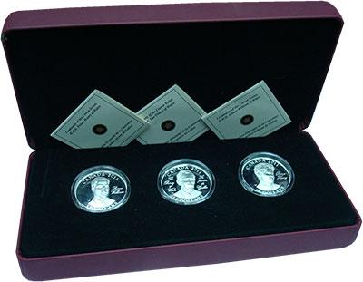 Изображение Подарочные монеты Канада 15 долларов 2011 Серебро Proof `Подарочный набор мо