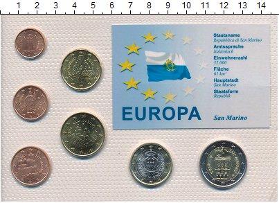 Изображение Наборы монет Сан-Марино Сан-Марино 2006-2011 0  UNC В наборе 8 монет ном