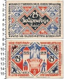 Банкнота Германия : Нотгельды 25 марок 1921 UNC