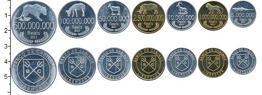 Изображение Наборы монет Кабинда Набор 2017 года 2017  UNC Набор 2017 года из 7