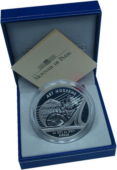 Изображение Подарочные монеты Франция 6,55957 2000 Серебро Proof Стили искусства Евро