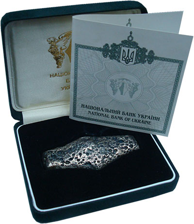 Изображение Подарочные монеты Украина Гривна 0 Серебро UNC Выпущена Национальны