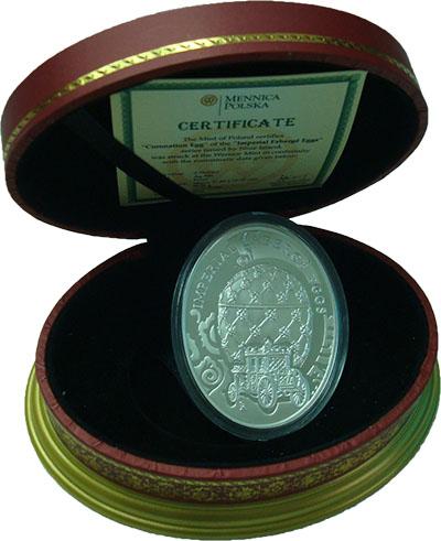 Изображение Подарочные монеты Ниуэ 2 доллара 2010 Серебро Proof `Серия ``Яйца фирмы