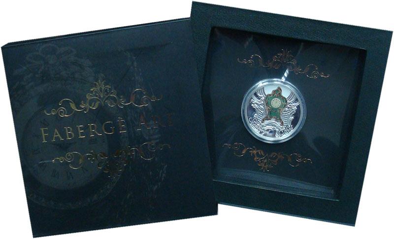 Изображение Подарочные монеты Ниуэ 1 доллар 2018 Серебро Proof Искусство Фаберже, Н