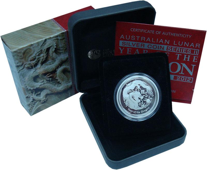 Набор монет Австралия 50 центов Серебро 2012 Proof
