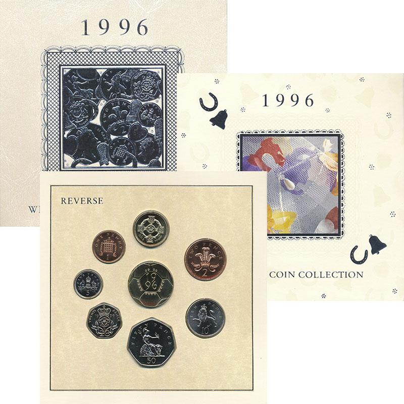 Изображение Подарочные монеты Великобритания Выпуск монет 1996 1996  UNC Подарочный набор 199