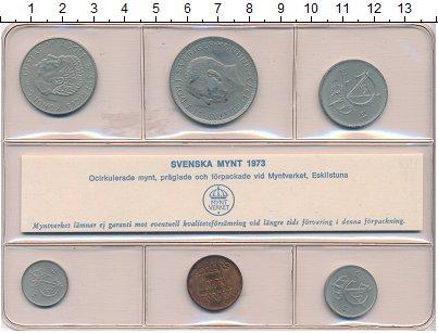 Изображение Наборы монет Швеция Набор монет 1973 года 1973  UNC `В наборе 6 монет но