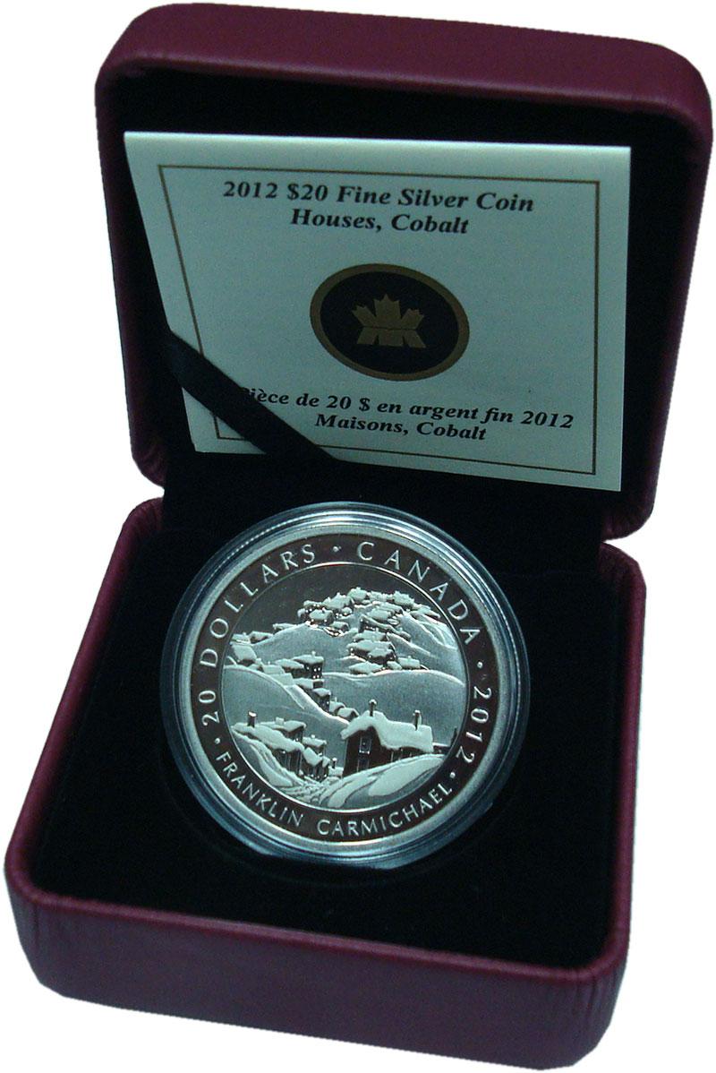 Изображение Подарочные монеты Канада 20 долларов 2012 Серебро Proof `Серия ``Художники К