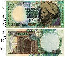 Банкнота Казахстан 2000 тенге 2000 UNC фото