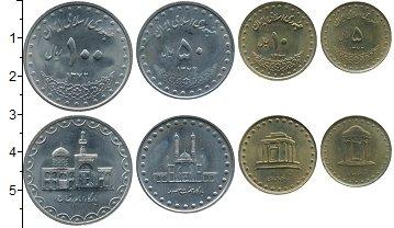 Изображение Наборы монет Иран Набор 1993 года 1993  UNC- В набор входят четыр