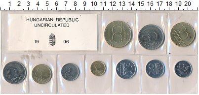 Изображение Наборы монет Венгрия Набор 1996 года 1996  UNC Набор монет от 10 фи