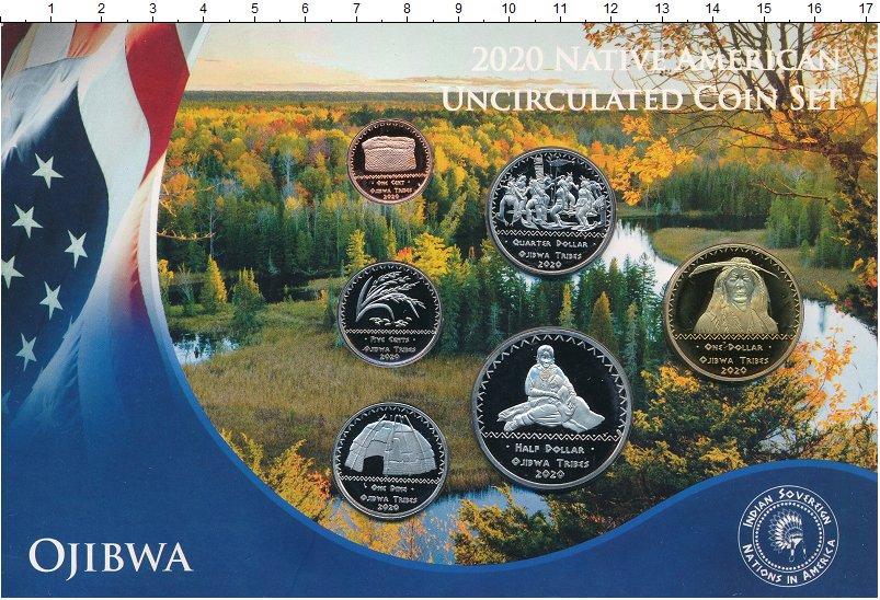 Изображение Наборы монет Резервация Хамул Индейцы Медаль 2020  UNC Индейская резервация