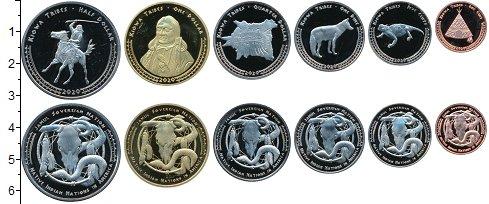 Изображение Наборы монет Резервация Хамул Индейцы 1.327-9693-1401-8240 2020  UNC Индейская резервация