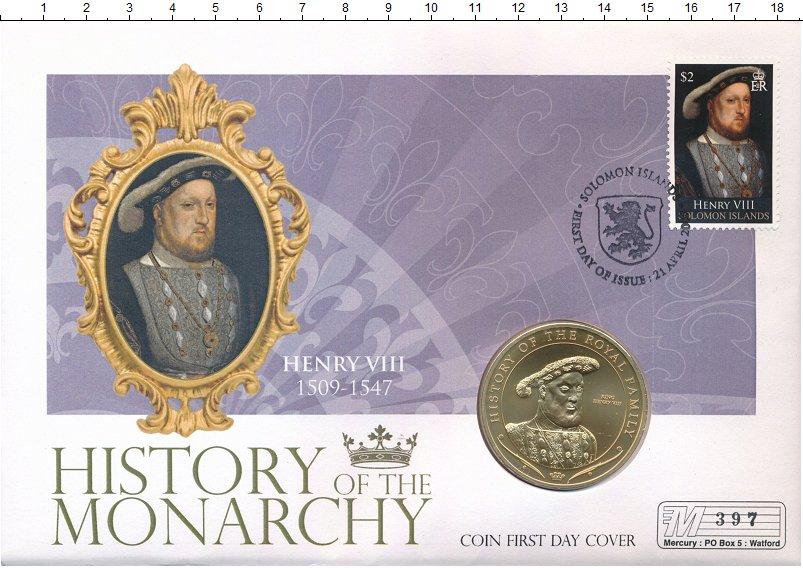 Изображение Подарочные монеты Острова Кука 1 доллар 2008 Медно-никель UNC История королевской