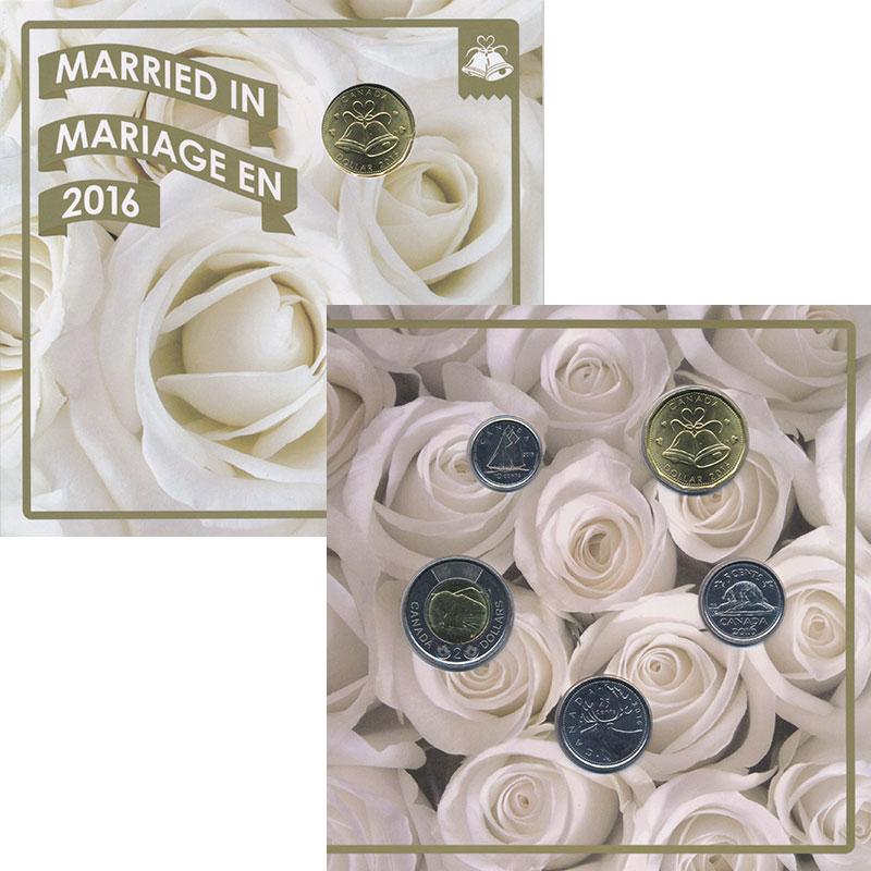 Изображение Подарочные монеты Канада Набор 2016 года 2016  UNC `Набор из четырех мо