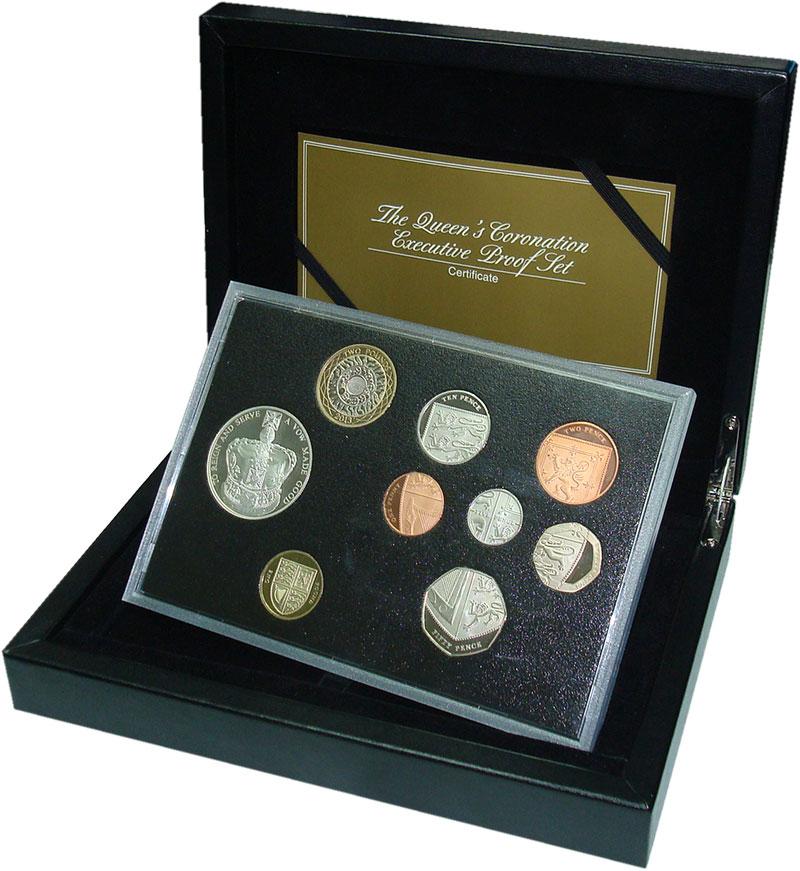 Изображение Подарочные монеты Великобритания Набор 2013 года Эксклюзив-пруф 2013  Proof В набор входят восем