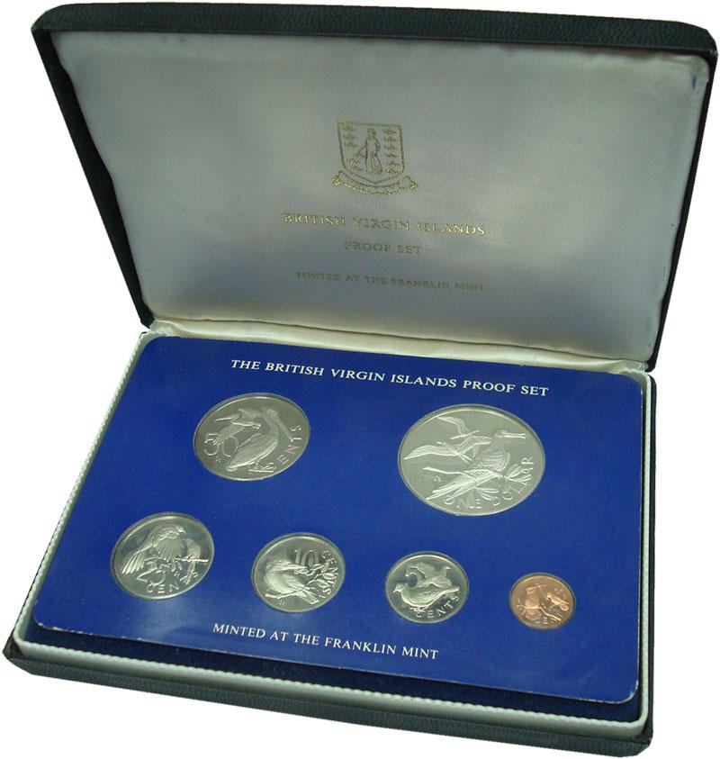Изображение Подарочные монеты Виргинские острова Набор 1975 года 1975  Proof Набор из шести монет