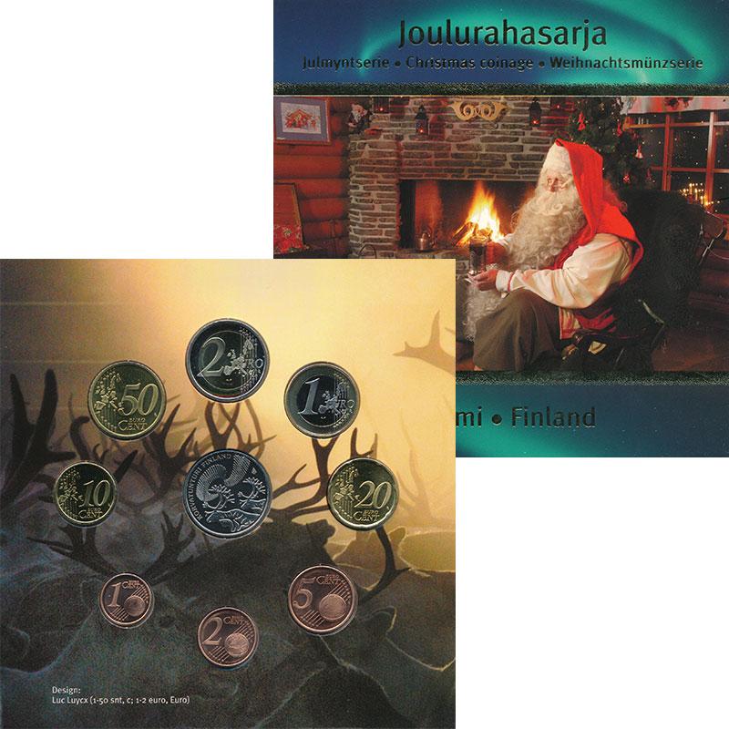 Изображение Подарочные монеты Финляндия Набор 2006 года 2006  UNC Набор из 8 монет от