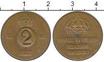 Изображение Наборы монет Швеция 2 эре 1970 Медь XF Года разные