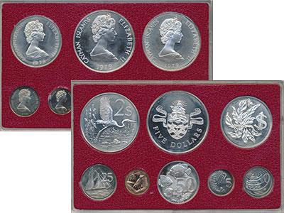 Изображение Подарочные монеты Каймановы острова Выпуск 1979 года 1979  Proof- Представляем Вам рег