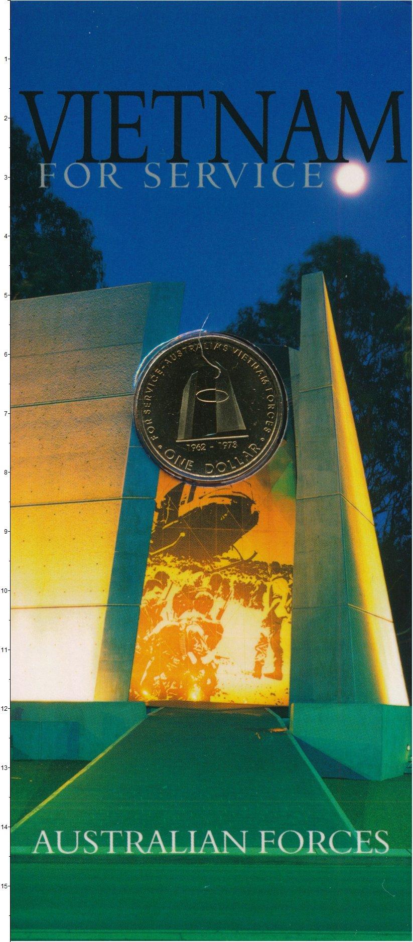 Изображение Подарочные монеты Австралия Австралия 2003 Латунь UNC Австралийские вооруж