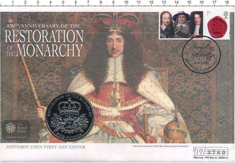Изображение Подарочные монеты Великобритания 5 фунтов 2010 Медно-никель UNC Подарочный набор пос
