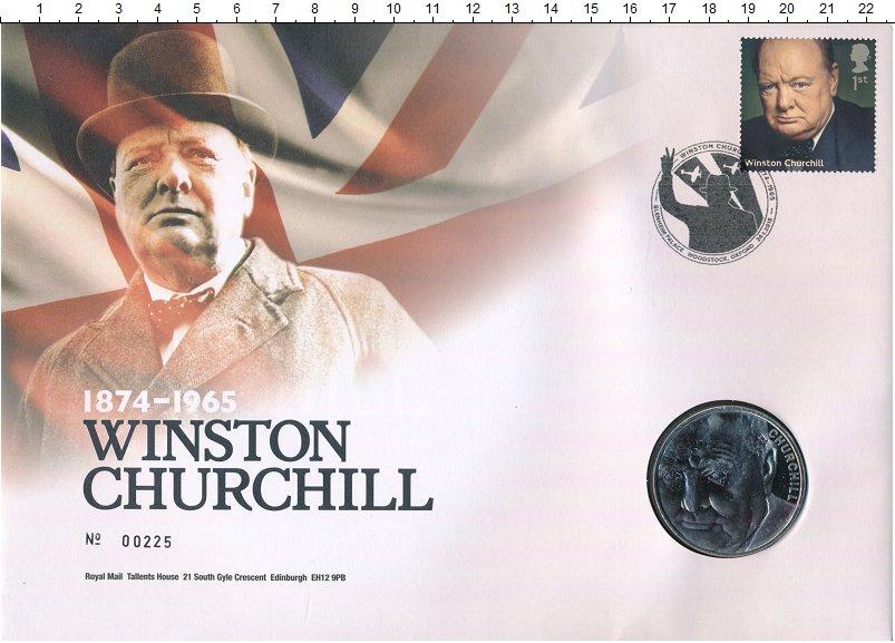 Изображение Подарочные монеты Великобритания 5 фунтов 2015 Медно-никель BUNC 5-фунтовая монета по