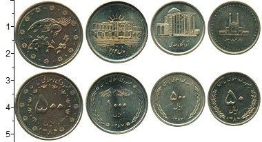 Изображение Наборы монет Иран Иран 1383-1387 0  UNC В набор входят четыр