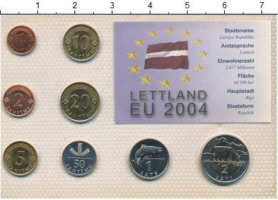 Изображение Наборы монет Латвия Набор 1992-2000 гг 0  UNC В наборе 8 монет ном