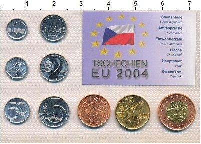 Изображение Наборы монет Чехия Чехия 1996-2002 0  UNC В наборе 9 монет ном