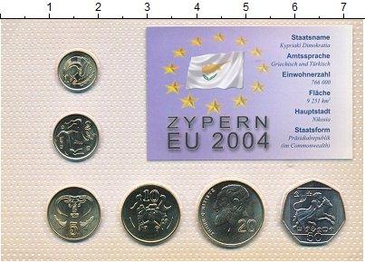 Изображение Наборы монет Кипр Выпуск 1998-2002 0  UNC В наборе 6 монет ном