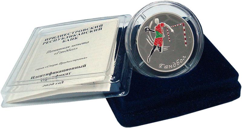 Изображение Подарочные монеты Приднестровье 10 рублей 2020 Серебро Proof Цифровая печать.  Мо