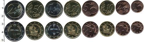 Изображение Наборы монет Кипр Кипр 2017 2017  UNC В наборе 8 монет ном