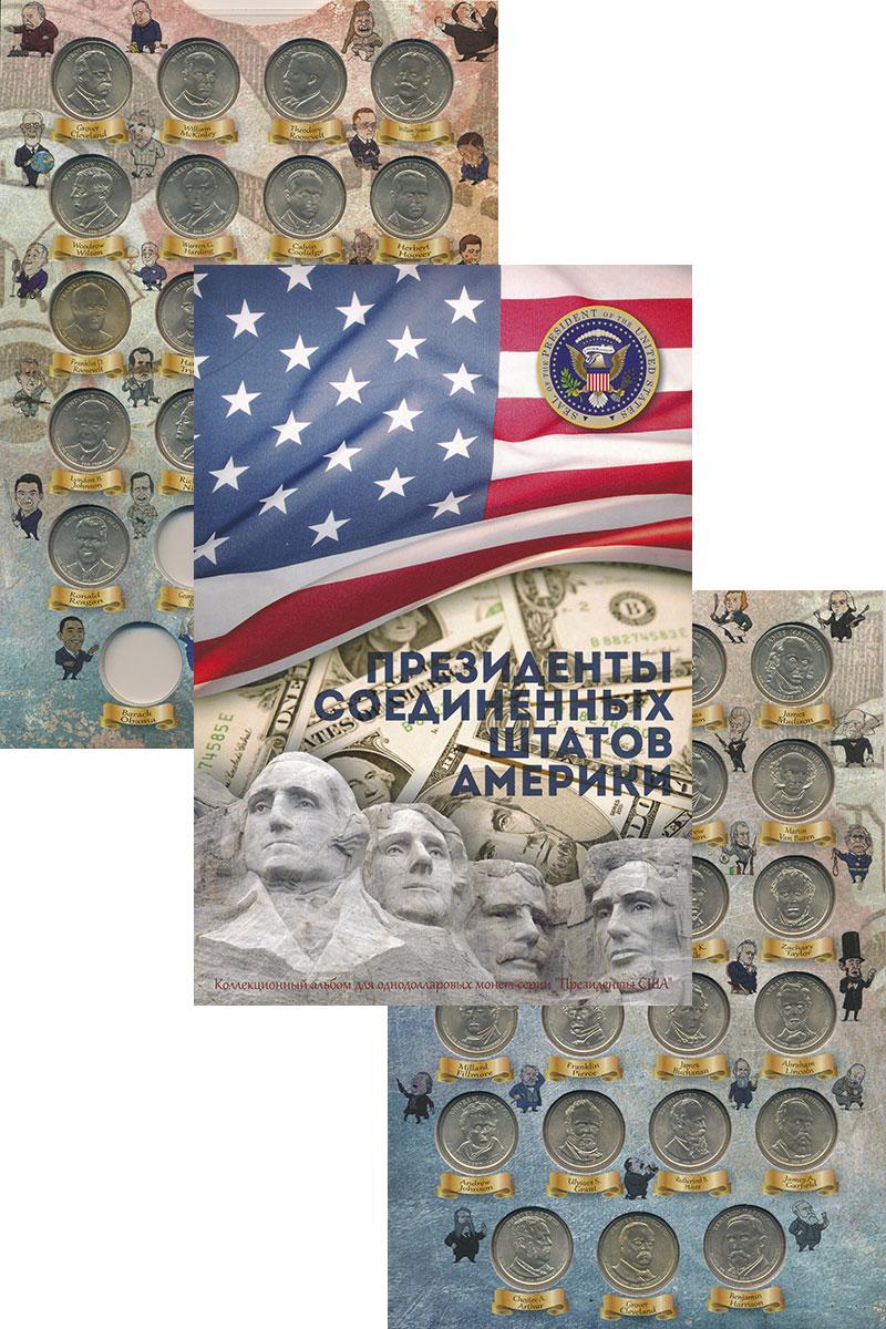 Изображение Подарочные монеты США Президенты США 0 Латунь UNC- Президенты США. Набо