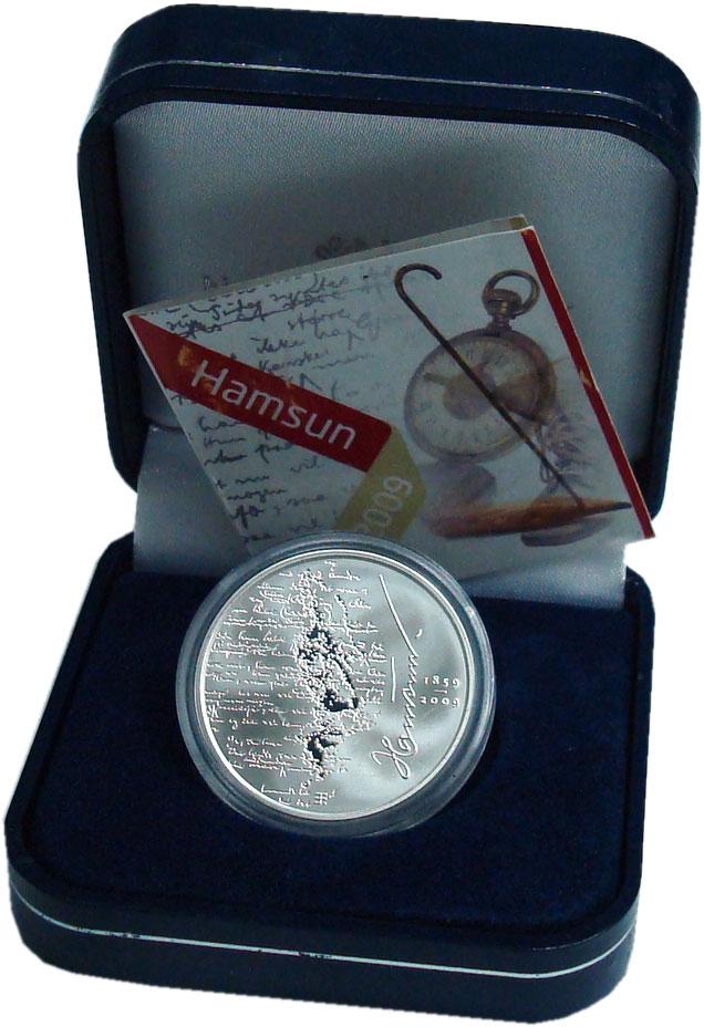 Изображение Подарочные монеты Норвегия 200 крон 2009 Серебро Proof 150 лет со дня рожде