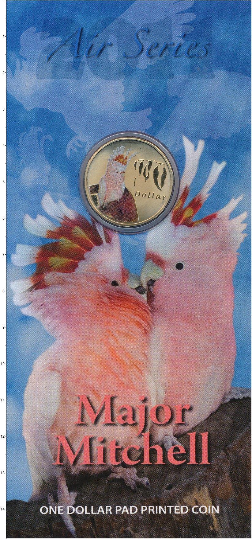 Набор монет Австралия 1 доллар Латунь 2011 UNC