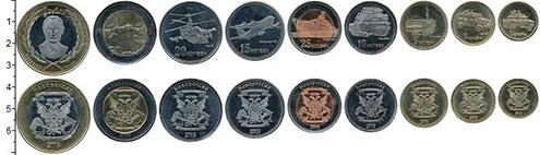 Изображение Наборы монет Россия 5 крон 2015  UNC Набор монет Новоросс